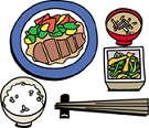 食事の糖質量&カロリー量一覧表